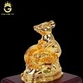 Tượng chuột mạ vàng 24k