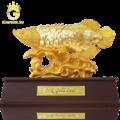 Tượng cá rồng bằng vàng 24k
