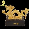 Tượng rồng mạ vàng 24k quà tặng sếp tuổi thìn