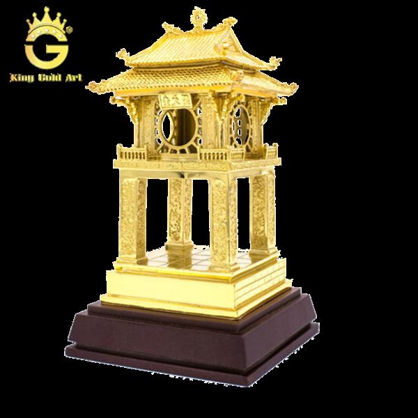 Mô hình Khuê Văn Các dát vàng 24k
