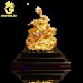 Quà tặng tượng rồng phong thủy mạ vàng