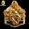 Đúc tượng Di Lặc bằng đồng mạ vàng theo yêu cầu