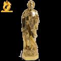 Đúc tượng Thánh Giuse bằng đồng dát vàng theo yêu cầu