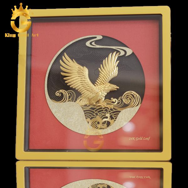 Tranh vàng đại bàng tung cánh, tranh đại triển đông hồ