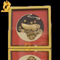 Tranh cá rồng mạ vàng làm quà tặng sếp thăng chức