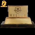Chế tác logo doanh nghiệp mạ vàng 24k tinh xảo