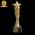 Đúc biểu tượng bằng đồng mạ vàng 24k tinh xảo
