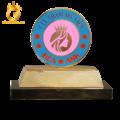 King Gold Art chế tác logo công ty mạ vàng 24k